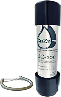 CuZn UC-200 Under Counter Water Filter – 50K Ultra High Capacity – Made in USA