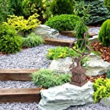 Relaxdays Gusseisen, antikes Design, wetterfest, Gartendekoration, H x B x T: ca. 36 x 17 x 14 cm, braun Sonnenuhr, - 3
