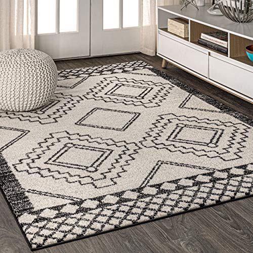 JONATHAN Y Amir Moroccan Beni Souk, Bohemian, Easy-Cleaning, for Bedroom, Kitchen, Living Room, Non Shedding...