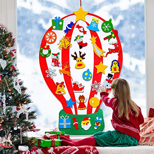 4 Feet TALLER Christmas Felt Crafts Kits for Kids with Xmas...