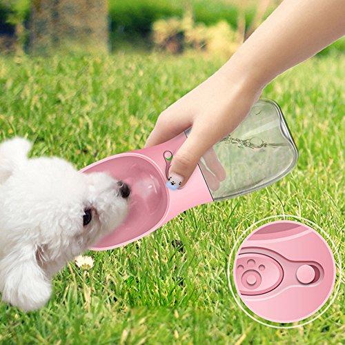 Botella de Agua para Perros para Caminar de STRIR Dispensador de Agua...