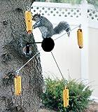 Cobs-A-Twirl Squirrel Feeder - Black