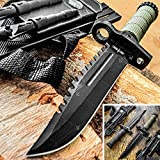 Tactical Knife Hunting Knife Survival Knife 13.75' Fixed Blade Knife With...