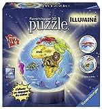 Ravensburger - 12184 - Puzzle 3D - Globe Illuminé...