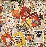Monkeybrother 32Stk. Vintage Vieille Europe Poster Cartes Postales de...