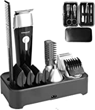 Sminiker Professional 5 in 1 Multi-functional Waterproof Man's Grooming Kit Hair..