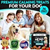 Hemp Calming Treats for Dogs - Stress and Anxiety Relief - 170 Soft Chews - Made in USA - Hemp Oil for Dogs - Natural Calming Aid - Separation - Stress - Storms - Fireworks | Aggressive Behavior #4