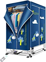 KASYDoFF Clothes Dryer Portable 1500W-1.7 Meters 3-Tier Foldable Clothes Drying Rack..