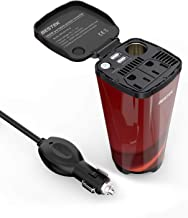 BESTEK 200W Car Power Inverter with 2 AC Outlets and 4.5A Dual USB Charging Ports Car..