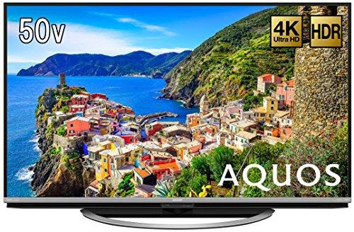 シャープ N-Blackパネル搭載 50V型 液晶 テレビ AQUOS 4K HDR対応 LC-50US45