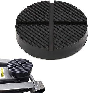 GeeWatom Universal Floor Jack Rubber Pad Jack Pad Adapter Pinch Weld Side Frame Rail..