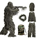Bseical Ghillie Suit Sniper, Ghillie Militaire, Camouflage Airsoft Sniper, Tenue...