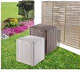 groundlevel.co.uk Impressionnante Boîte de Rangement de Jardin résistant aux...