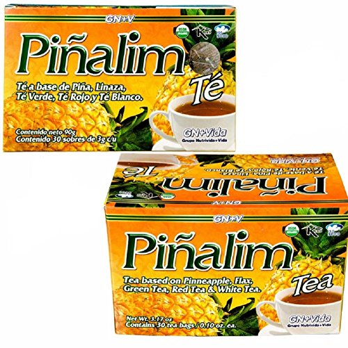 2 Pack Te Pinalim Tea GN+Vida Weight Loss Tea Diet 1