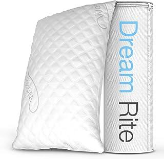 WonderSleep Dream Rite Shredded Hypoallergenic Memory Foam Pillow Series Luxury..
