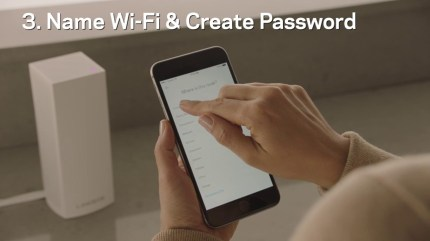 Linksys-WHW0301-Velop-Mesh-Router-Tri-Band-Home-Mesh-Wi-Fi-System-for-Whole-Home-Wi-Fi-Mesh-Network-1-Pack-White