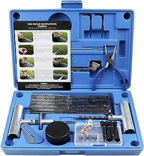 MAIKEHIGH Tire Repair Kit, Heavy Duty Tire Plug Kit Professional Tubeless Flat Puncture..