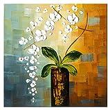 Wieco Art– Peinture florale à l'huile sur toile « Beauty of Life »...