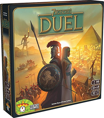 Asmodee 7 Wonders - Duel, Multi-colored (Video Game)