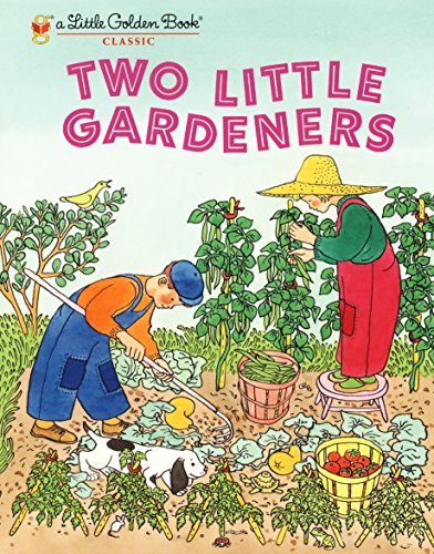 Two Little Gardeners (Little Golden Book)