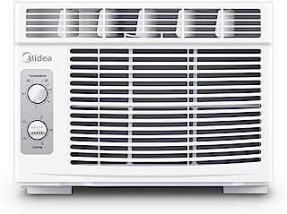 MIDEA MAW05M1BWT Window air conditioner 5000 BTU with Mechanical Controls, 7 temperature,..