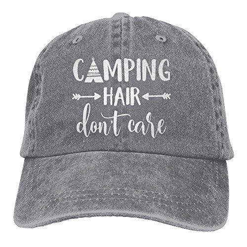 Splash Brothers Customized Unisex Camping Hair Don't Care Vintage...