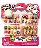 Shopkins Nail Kit w/ 40 Pre-Glued Press-On Nails