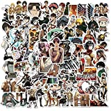 TTBH Pegatina Anime Icon Animal Stickers Regalos para niños a Laptop Suitcas Bicicleta Coche DIY PVC Stickers100Pcs