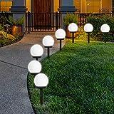 Lampes Exterieure Solaires De Jardin Au Sol, FLOWood Exterieure Étanche...