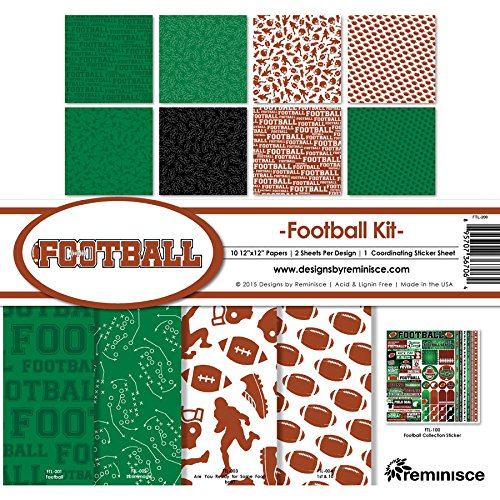 Reminisce Football Collection Kit