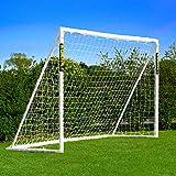 Net World Sports Forza Backyard Soccer Goals [6 Sizes] – Premium Weatherproof PVC Home Soccer Goal Posts