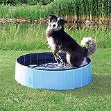 Trixie 39482 Hundepool, ø 120 × 30 cm, hellblau/blau