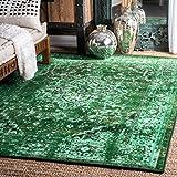 nuLOOM Reiko Vintage Persian Area Rug, 5' x 8', Green