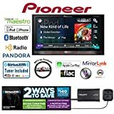Pioneer AVH-4200NEX In Dash Double Din DVD Receiver with SiriusXM SXV300v1 Tuner and...
