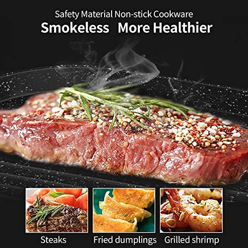 Product Image 3: Liven Electric Grill With Hot Pot SK-J6860 Multifunctional, Indoor Teppanyaki Grill/Korean BBQ/Shabu Shabu Hot Pot, 3.6L Capacity for 2-10 People
