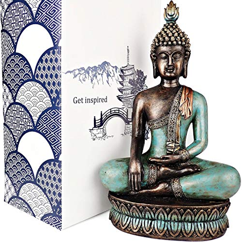 25DOL Buddha Statues for Home. 13' Buddha Statue (The Moment...