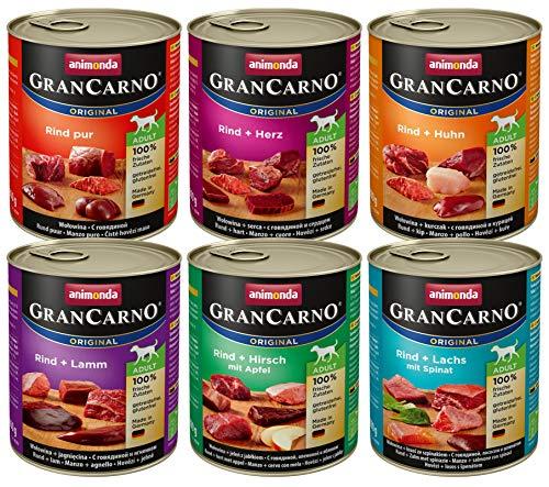 animonda GranCarno Hundefutter, Nassfutter für erwachsene Hunde, verschiedene...