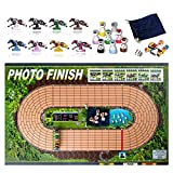 Photo Finish Horse Track Racing Board Game | New Fun Parlor Party Game | Original, Hand Made Edition | Improved Horses