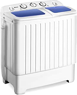Giantex Portable Mini Compact Twin Tub Washing Machine 17.6lbs Washer Spain Spinner..
