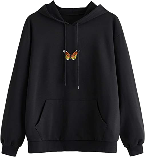 black butterfly Bella jackets and sweaters aesthetic