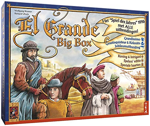 999 Games El Grande Big Box Strategia