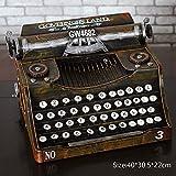 MMM- Style européen Fer Matériel Classique Vintage Machine à écrire...
