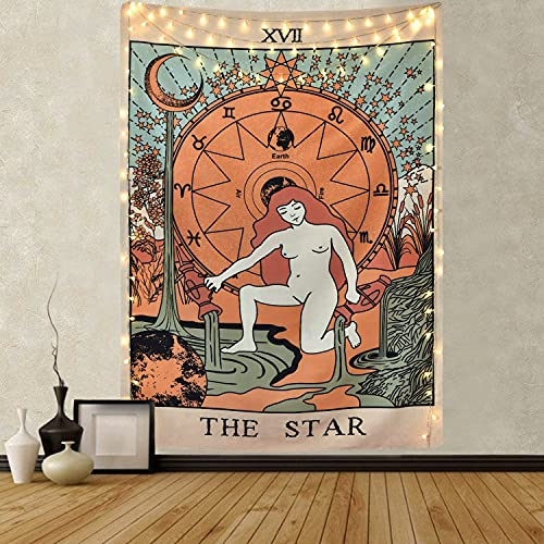 Tarot Tapestry The Star Tapestry Medieval Europe Divination...