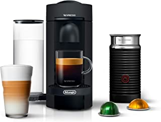 Nespresso by De'Longhi ENV150BMAE VertuoPlus Coffee and Espresso Machine Bundle with..