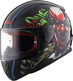 LS2 Helmets Full Face Rapid Street Helmet (Happy Dreams – Large)