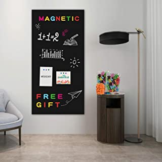 Board2by Magnetic Chalkboard Paper for Wall, 38.9 x 18 Self Adhesive Chalk Board..