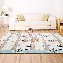 Bammax Play Mat, Folding Mat Baby Crawling Mat Kids Playmat Waterproof Non Toxic for..