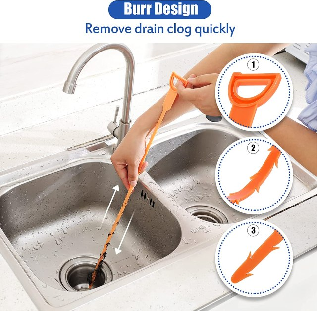 Buy Drain Clog Remover Tool Set,Snake For Kitchen Sink Drain