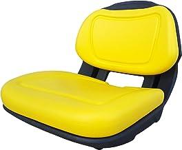 TRAC SEATS Yellow Seat for John Deere X300 X300R X304 X310 X320 X324 X340 X360 AM136044..