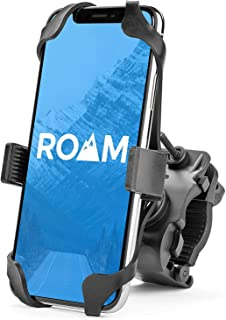 Roam Universal Premium Bike Phone Mount for Motorcycle – Bike Handlebars,..